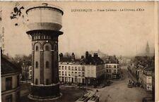CPA   Dunkerque -Place Colonne - Le Cháteau d'Eau    (512684)