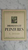 Album Arte - Medecines E Peintures - N°6 - L. David