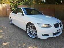 2009 BMW 320d Auto M sport White coupe. Red Leather! 1 years MOT, FSH, HPI Clear