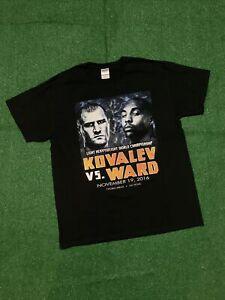 2016 Sergei Kovalev vs Andre Ward Boxing T-Shirt (Size Large)