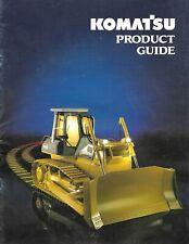 Brochure Komatsu Construction Equipment Product Line Guide C1993 E6559