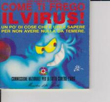 LUPO ALBERTO PRESENTA COME TI FREGO IL VIRUS! - MINISTERO DELLA SALUTE - 1991