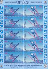 Asia Humorous 1923 Armenien Soprastampa Hand 15k Su 250r Unif N 160 Un Val Neu Mlh Caffa Stamps