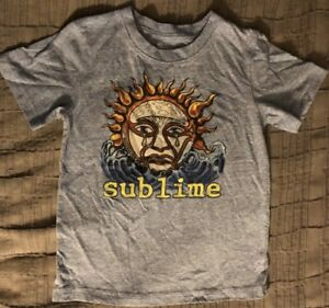 "Vintage SUBLIME Tshirt Child Sz 4T Concert LIVE NATION Merch! ""Crying Sun"" NEW"