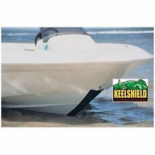 Keelshield Keel Guard-BLACK 6' Long Protect from Scratches Best Adhesive Boat MD