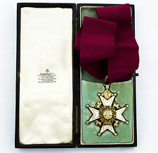Rare BRITISH ORDER OF BATH  C.B Military Medal in Original Case - NR
