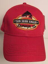 San Juan Angler Hat Cap Fishing Durango Colorado  USA Embroidery  New
