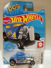 2021Hot Wheels #27 '32 Ford HW Mattel Game 1/5 Blue