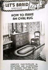 How to make an oval rug: rug braiding instructions Let's Braid