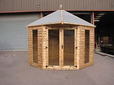 8' x 8' New Modern Corner Summer House RRP £3499  Delivery charges applicable