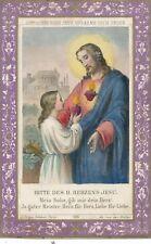 Heiligenbilder Bitte des H. Herzens Jesu  (HB1)