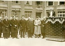 """""""Préfet CHIAPPE aux obsèques d'Henri VERJUS 1931"""" Photo originale G. DEVRED /ROL"""