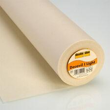 Vilene Vldeclt - Decovil Light Fusible Interlining Fabric / Interfacing Heavy