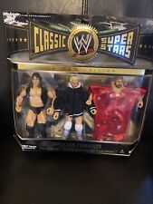🔵WWE Fabulous Freebirds Classic Superstars JAKKS Pacific 3-Pack NEW Sealed WWF