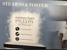 Stearns & Foster Jumbo Memory Foam Pillow w/ Cool Touch Cover