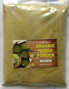 100 % ORGANIC NATURAL HENNA POWDER (HOME MADE) FOR HAIR CARE!! free shipping!!!