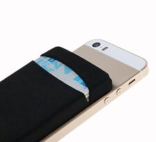 With Lid - Red New Phone iphone back Card Holder Stick Sticker Wallet Case cover