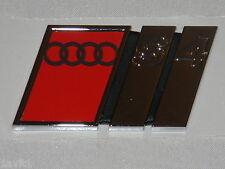 Nuevos Originales Audi S4 Cola Trasero Puerta S4 Emblema 8d0853737b 2zz