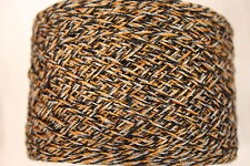 100 g balls Wool/Mohair Mix - 4 ply Weight Yarn – Gold Marl