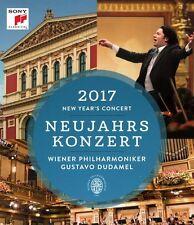 2017 NEW YEAR'S CONCERT Wiener Philharmoniker BLURAY NEW .cp