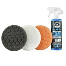 """Chemical Guys HEX_3KIT_6 6.5"""" Buffing Pad Kit (4 Items), 16. Fluid_Ounces 4 Pack"""