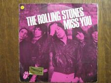 ROLLING STONES 45 TOURS BELGIQUE MISS YOU