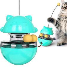 Pet Fun Training Exercise Feeder Cat Feeding Toys Tumbler Leakage Food Ball Gift