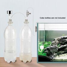 Pressure Gauge Easy Install Air Flow For Aquarium DIY CO2 Generator System Kit