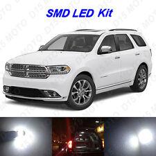 18 x White LED interior Bulbs + Fog + Reverse Lights for 2014-2017 Dodge Durango