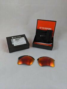 Revant Oakley Flak Jacket KLJ NonPolarized Mirrorshield Midnight Sun Replacement