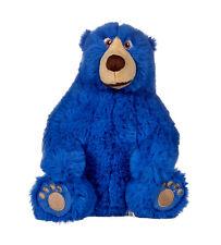 "NEW 9"" WONDER PARK BOOMER SOFT PLUSH TOY BLUE BEAR"