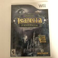 Preowned Princess Isabella: A Witch's Curse - Nintendo Wii