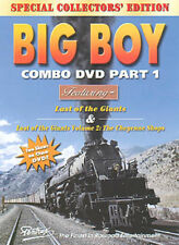 Big Boy Combo Part 1 DVD Pentrex Cheyenne Shops 1950s Union Pacific UP UP Steam