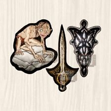 Lotr Patches Set Tolkien Gollum Frodo Sword Arwen Lord of the Rings Embroidered