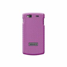 COQUE SAMSUNG WAVE 3 S8600 MICROPERFORÉE ROSE SILICONE RIGIDE (TPU)