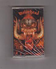 MOTORHEAD - Sacrifice rare metal Cassette NEW