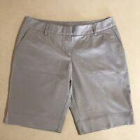 Adidas Climalite Womens Gray Shorts Deep Pockets Size 14