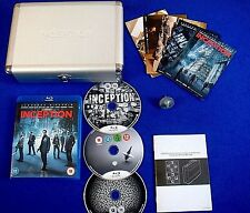 blu-ray INCEPTION Limited Edition METAL CASE Briefcase + Spinning Top BLURAY UK
