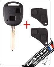 Coque Télécommande Plip Clé TOYOTA Yaris Celica Carolla Avensis Auris + Lame key