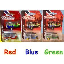 Majorette Tuk Tuk taxi Thai toy model car Thailand collectible blue green diecas