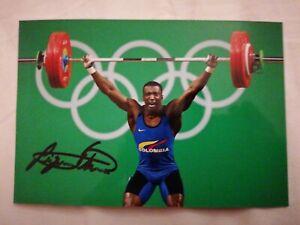 Oscar Figueroa - COL - Olympia 2016 - Gewichtheben - Gold - Foto (1)
