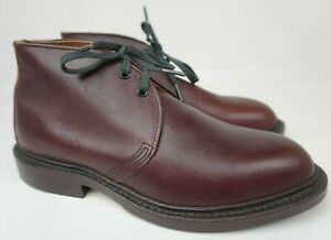 Red Wing Black Cherry Leather Chukka Ankle Boots 9098 Men's Size 7 D