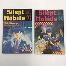 Silent Mobius Manga Comics #1 & #2 By Kia Asamiya. Viz Select Comics 1991