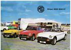 MG MGB GT COUPE / ROADSTER & MG MIDGET 1500 ORIG. 1978 FACTORY UK SALES BROCHURE