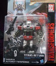 Transformers Generations Titani Return Twinferno Deluxe Class