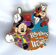 Disney Pins~Tokyo Disney Seas~Rhythms Of The World~Moc
