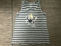 Uniqlo Keith Haring Adult Womens Small Tank Top Striped Gray