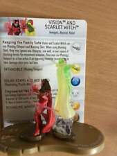 Marvel Heroclix Chaos War Vision and Scarlet Witch  #055 - Chase