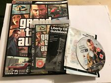 PLAYSTATION 3 PS3 GTA juego Grand Theft Auto IV 4 Completo + Brady guía de estrategia