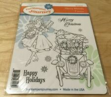 Fun Stampers Journey - Merry Melody - SS-0516 - 7 Stamps